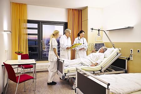hospital medico visite paciente