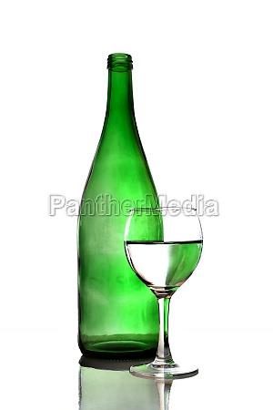 vidrio vaso beber liquido verde vino