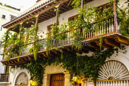 casa colonial espanyola cartagena de indias