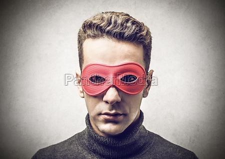 retrato ojos rubia carnaval fastnacht retrato