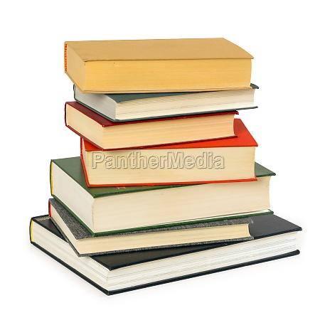 educacion liberado antiguo aislado libros apilar