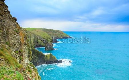 azul paseo viaje turismo ondas europa