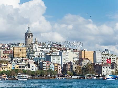 estambul turquia metropolis ciudad bosforo vista