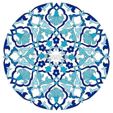 azul antiguo tradicional sumision oriental emitido