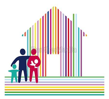 stripes house family