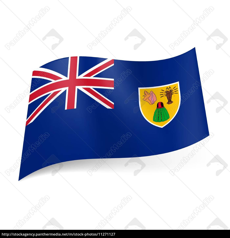 Bandera De Las Islas Turcas Y Caicos Foto De Archivo 11271127