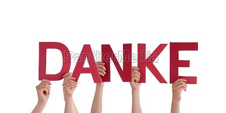 las personas titulares de danke roja