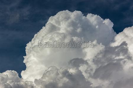 verano veraniego tiempo tormenta las nubes