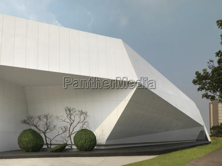 detalle de la arquitectura moderna