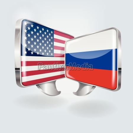 americano eeuu america rusia ruso globo