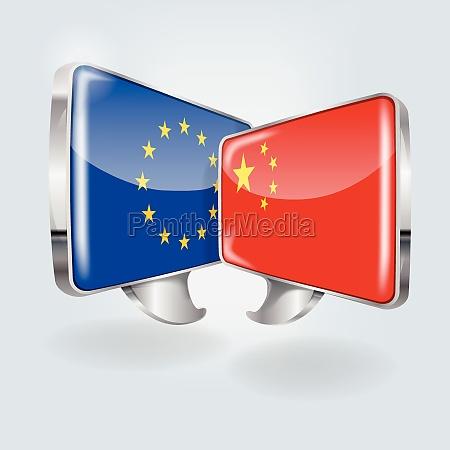burbujas con europa y china