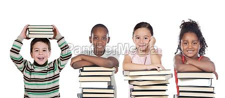 estudio educacion ninyo jovenes muchos escuela