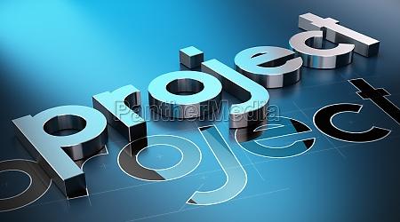 azul construir disenyo tecnologia hormigon palabra