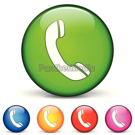 phone round icons