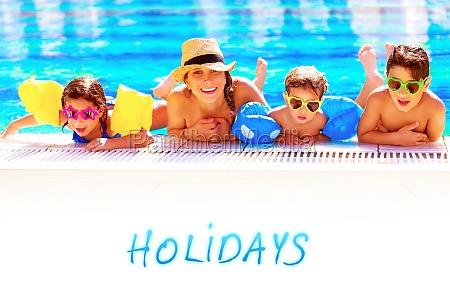 fiesta vacaciones verano veraniego mama encantado