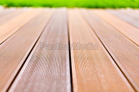 madera terraza al aire libre droga