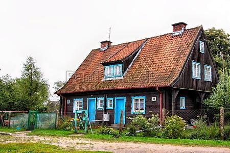 antigua casa masuria