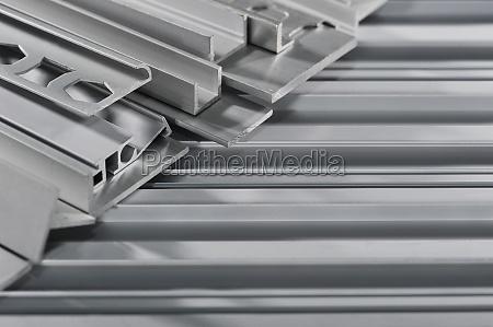 tiras de perfil de aluminio
