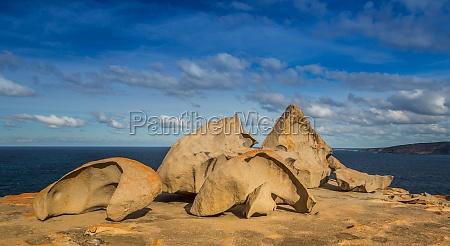 rocas rock australia costa erosion granito