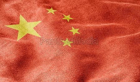 bandera de la republica popular china