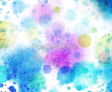 circulos colores textura