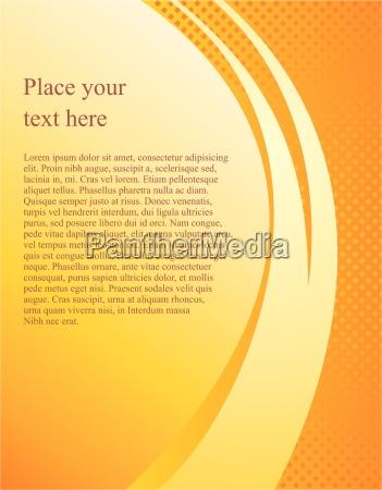 documento plantilla de pagina de vectores