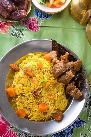 arroz arabe alimentos ramadan en oriente