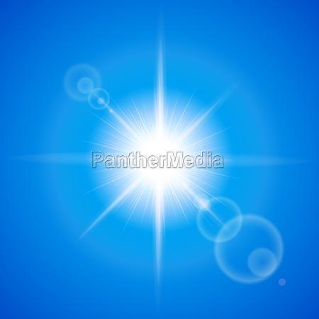 azul fiesta vacaciones haz luz soleado
