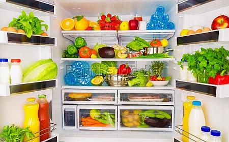 concepto de alimentos saludables