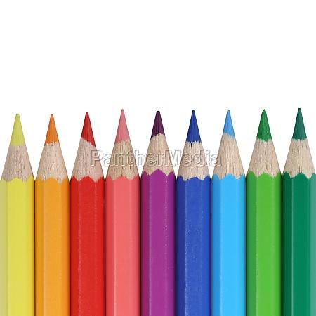lapices de colores para la escuela