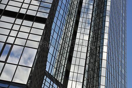 fachada de vidrio en frankfurt