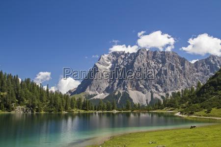 austria lago de montanya tirol montanya