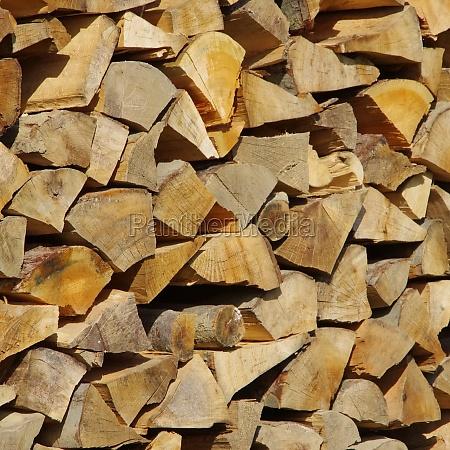 pila de madera pila de madera