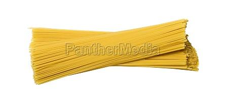 spaghetti insulated on white background
