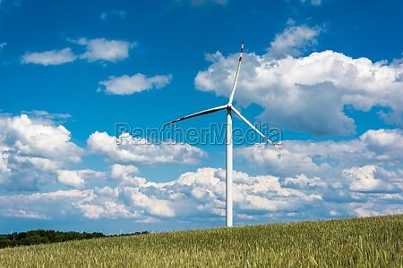 parque eolico en terrenos rurales