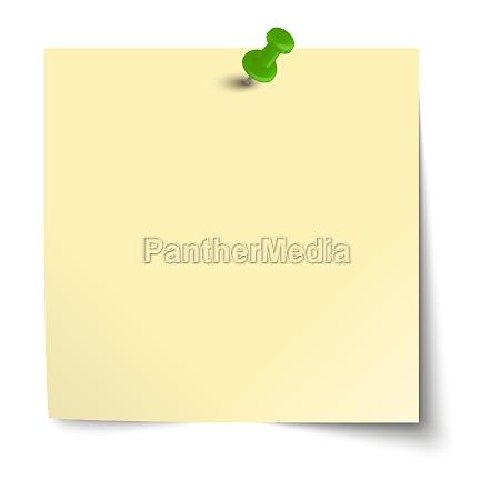 nota nota con pin