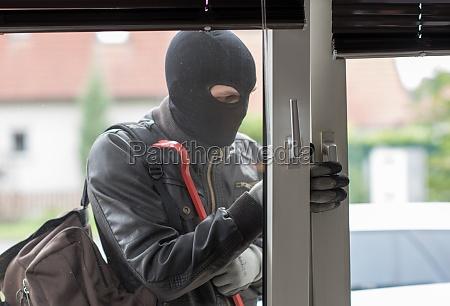 ladron con la palanca