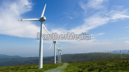 onshore wind farm in the northern