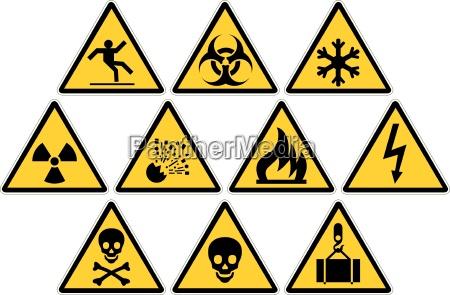 senyales de advertencia