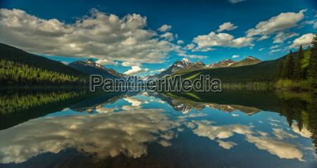 parque nacional reflexion america tranquilo de