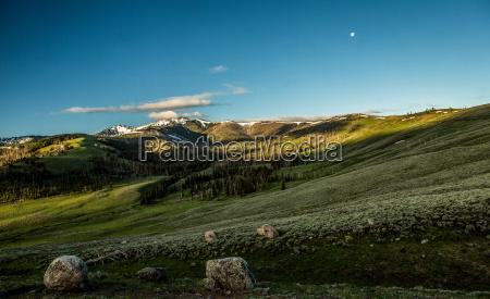 parque nacional luna ancho prados america