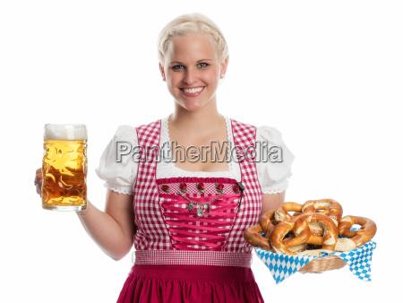 madl, con, cerveza, y, pretzel - 12210448