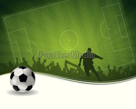 futbolista con la bola