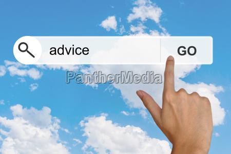 asesoramiento sobre la barra de herramientas