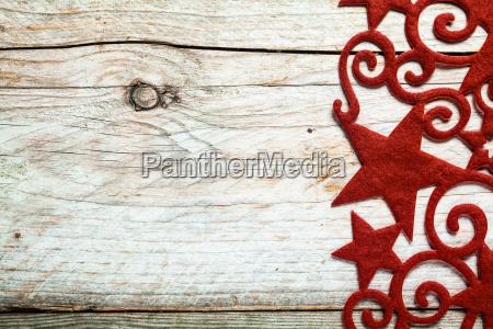 estrella roja decorativa frontera navidenya