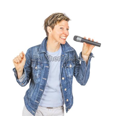 cantando mujeres