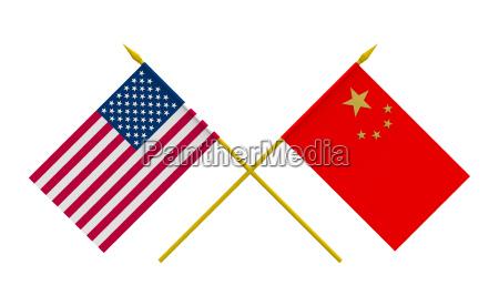 eeuu bandera china transparente estado pais