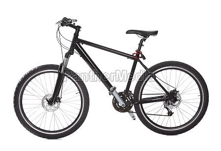 bicicleta de montanya negra