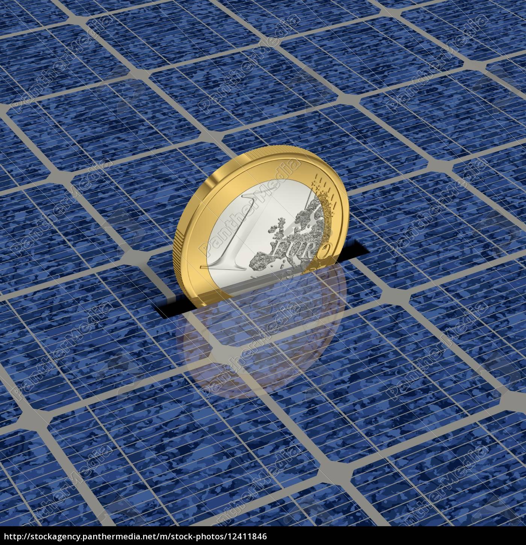 ahorre, dinero, con, energía, solar, 1 - 12411846