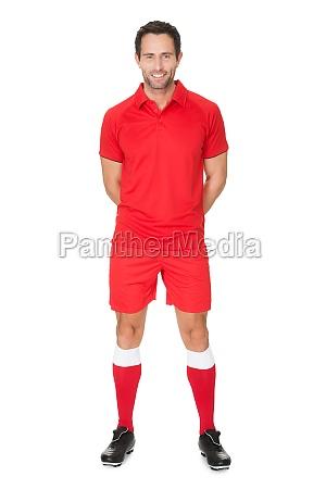 liberado retrato uniforme aislado camisa jugador